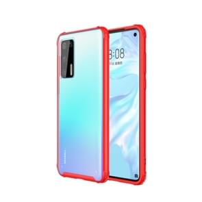 Voor Huawei P40 Pro Magic Armor TPU + PC Combination Case(Rood)