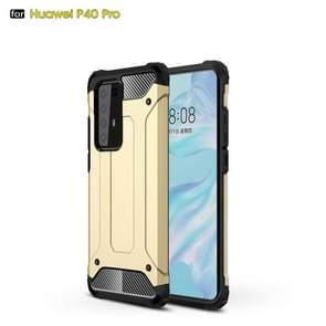 Voor Huawei P40 Pro Magic Armor TPU + PC Combination Case(Gold)