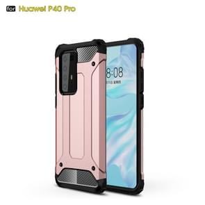 Voor Huawei P40 Pro Magic Armor TPU + PC Combination Case (Rose Gold)