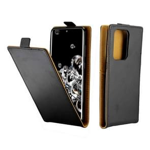 Voor Galaxy S20 Ultra Business Style Vertical Flip TPU + PU lederen behuizing met kaartsleuf (zwart)