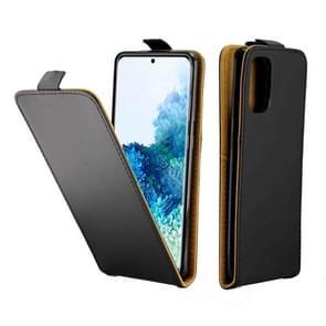 Voor Galaxy S20+ Business Style Vertical Flip TPU + PU Lederen case met kaartsleuf (zwart)