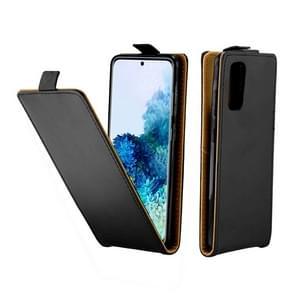 Voor Galaxy S20 Business Style Vertical Flip TPU + PU Lederen case met kaartsleuf (zwart)