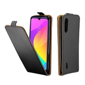 Voor Xiaomi Mi CC9 Business Style Vertical Flip TPU + PU Lederen case met kaartsleuf (zwart)