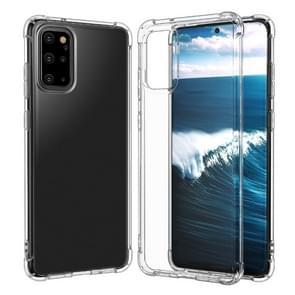 Voor Huawei P40 Pro Four-Corner Anti-Drop Ultra-Thin Transparent TPU Phone Case (Transparant)