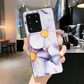 Voor Galaxy S20 Ultra Smooth Flower Series IMD TPU Case (Qiuying KF1)