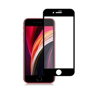 Voor iPhone SE 2020 2pcs mocolo 0.33mm 9H 2.5D Full Glue Tempered Glass Film