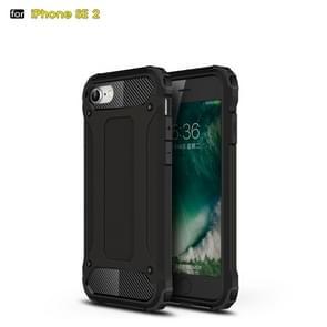 Voor iPhone SE 2020 Magic Armor TPU + PC Combination Case(Zwart)