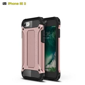 Voor iPhone SE 2020 Magic Armor TPU + PC Combination Case(Rose Gold)