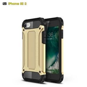 Voor iPhone SE 2020 Magic Armor TPU + PC Combination Case(Gold)