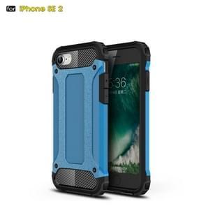 Voor iPhone SE 2020 Magic Armor TPU + PC Combination Case(Blauw)