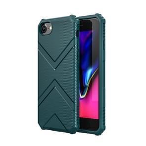 Voor iPhone SE 2020 Diamond Shield TPU Drop Protection Case(Groen)