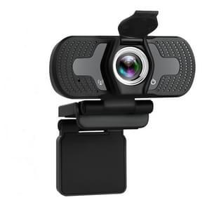 Full HD 1080P-webcamera met ruisonderdrukkingsmicrofoon Skype Streaming Live Camera voor Computer Android TV