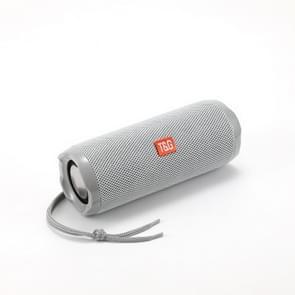 T&G TG191 20W Waterproof Bluetooth Speaker Stereo Double Diafragma Subwoofer Portable Audio FM Radio(Grijs)