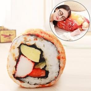 Simulatie voedsel gevulde pluche kussen bankkussen kussen (vis zaad rijst)