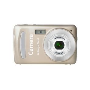 2.4 Inch 16MP 720P Mini LSR Cam Digital Camera for Kids Baby Cute Cartoon Multifunction Toy Camera Children Birthday(Gold)