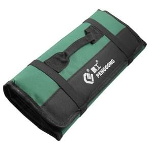 Multi-function Waterproof Oxford Carrying Folding Roll Bags Portable Storage Tool Bag(Green)