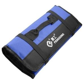 Multi-function Waterproof Oxford Carrying Folding Roll Bags Portable Storage Tool Bag(Blue)