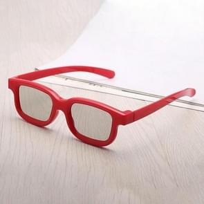 3D Movie Glasses Universal Plastic Polarized Non-Flash-Type Theater Dedicated For Movie Game