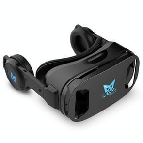 UGP IMAX 3D Virtual Reality helm VR Headset voor Smartphone 4.5-6 Inch met Bluetooth Gamepad VR Glasses(black)