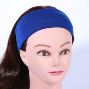 Yoga Fitness Haarband hoofdband  grootte: Ongeveer 21 x 7cm (Blauw)
