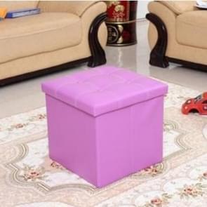 Children's Storage Stool Toy Storage Box Storage Stool(Purple)