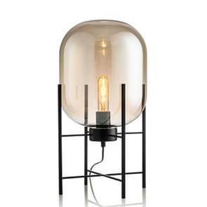 Personality Creative Glass Four-legged Floor Lamp(Amber)