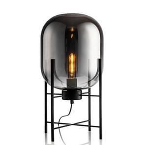 Persoonlijkheid creatief glas vier-legged vloer lamp (Smoke Gray)