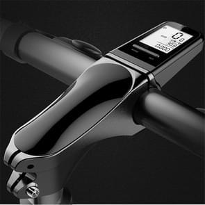 Fiets Chronograph Stem Mountain Bike Wireless Chronograph Stem LCD Lichtgevend LCD groot scherm
