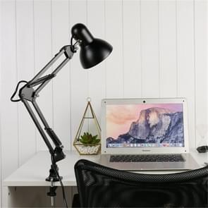 Flexible Swing Arm Clamp Mount Table Lamp Office Studio Home Table Desk Light