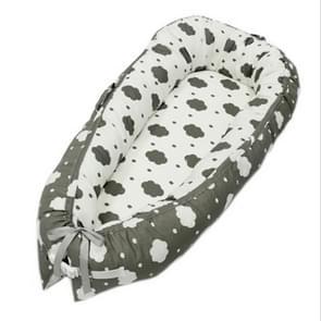 80 * 50cm Portabel Baby Bed pasgeboren Nursing Bionic Bed wieg Cot Baby slapen artefact Bed reizen Bed Bumper(BY-2020)