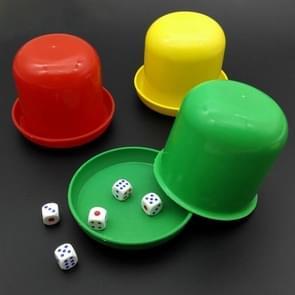 10 PCS Bar Party schaakspel plastic Shaker (willekeurige kleur Dlivery)