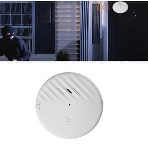 125dB Vibration Sensor Alarm Deur en Window Alarm Home Persoonlijke Anti-diefstal Alarm (Wit)