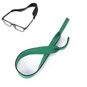 2 PCS Neopreen Duik zwembril Band Zonnebril Sponge Rope (Groen)