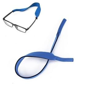 2 PCS Neopreen Duik zwembril Band Zonnebril Sponge Rope(Blauw)