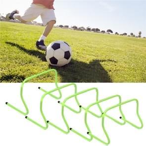 5 STKS ABS voetbal obstacle training hurdle  Szie: 30cm (groen)