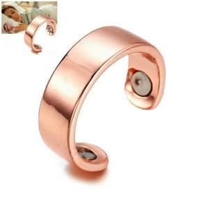 Acupressure Anti Snore Ring Treatment Reflexology Anti Snoring Apnea Sleeping Device(Gold)