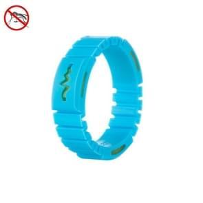 UFO Mosquito Repellent Bracelet Outdoor Anti-mosquito Artefact (Blauw)
