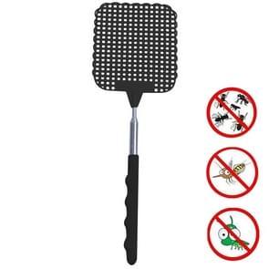 Creatieve intrekbare plastic vliegenwatter zomer levert Mosquito Swatter (Zwart)