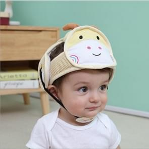 Baby children Infant Protective Cotton Head Protection Soft Hat Helmet Anti-collision Security Safety Sport Baby Caps(Deer)