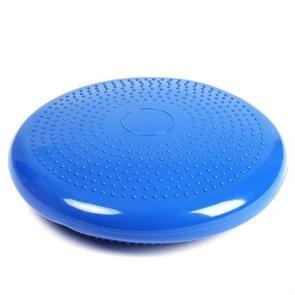 Dikke explosiebestendige Yoga Special Massage Balans Kussen  Diameter: 33cm  Specificatie:Met Gas Needle(Blauw)