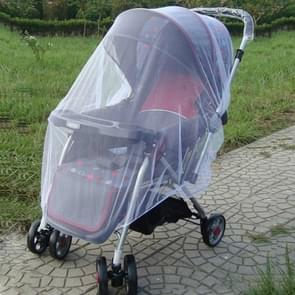 3 PCS 150cm Baby Pushchair Mosquito Insect Shield Net Safe Infants Protection Mesh Stroller Accessories Mosquito Net(White)