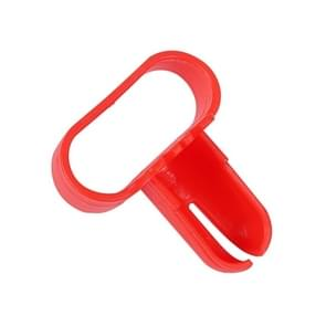 6 PCS Quick Balloon Knotter Latex Balloon Fastener Wedding Party Balloon Accessories(Red)