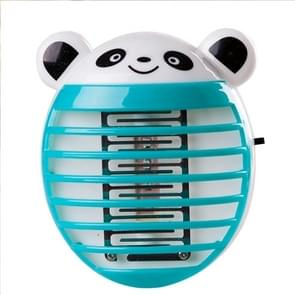 Cute Household Mosquito Killer Lamp LED Light Anti Mosquito Bug Zapper Insect Muggen Killer Night Light Colorful US Plug(Blue)