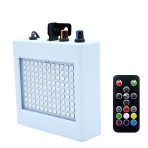 35W 108 LEDs geluid geactiveerde stroboscoop indoor vakantie kerst decoratie verlichting bar Flash lamp met afstandsbediening