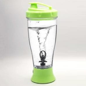 Coffee Milk Shake Electric Stirring Cup Simple Shake Cup  Capaciteit:350ml(Groen)