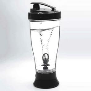 Coffee Milk Shake Electric Stirring Cup Simple Shake Cup  Capaciteit:350ml(Zwart)