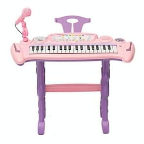 37-belangrijke kinderen elektronische keyboard piano met microfoon vroege jeugd onderwijs muziek educatief speelgoed