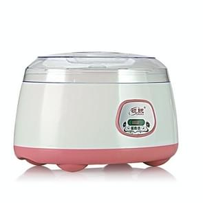 Household Yogurt Machine Stainless Steel Tank Mini Fermentation Machine Rice Wine Natto Machine(Pink)