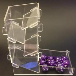 Acryl Leisure entertainment bordspel Poker chip lade