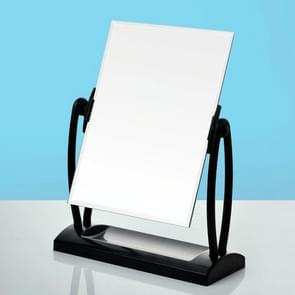 2 PCSGirls Makeup Mirror Desktop Dormitory Student Desktop Creative Desktop Mirror, Size:L